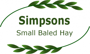 Simpsons small baled hay
